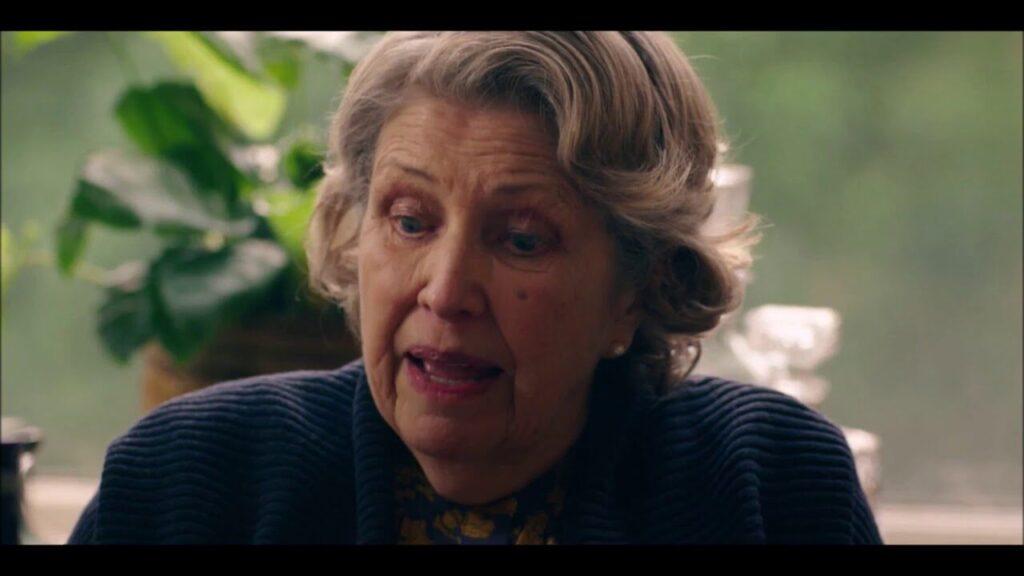 Imagen de Muriel durante su discurso.
